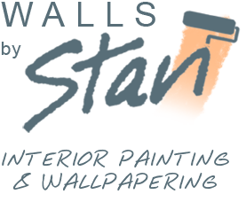 Walls by Stan painting and wallpapering services logo